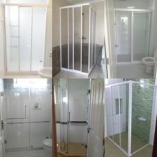 ฉากอาบน้ำ Shower บานเลื่อน บานสวิง บานเปลือย กระจกอลูมิเนียม